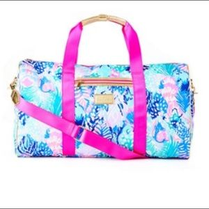 "Lilly Pulitzer ""Quill Out"" Carry On Bag"